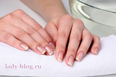 Домашний уход за ногтями - ванночки