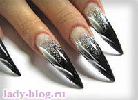 Форма ногтей при домашнем маникюре