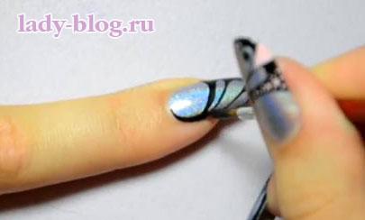 Рисунки на ногтях весенние