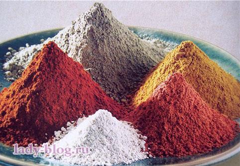 Маски из глины для лица в домашних условиях
