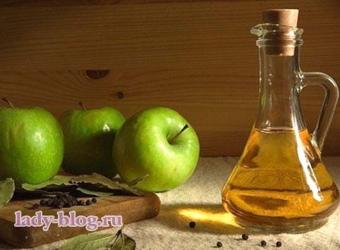 Яблочный уксус - рецепты для волос