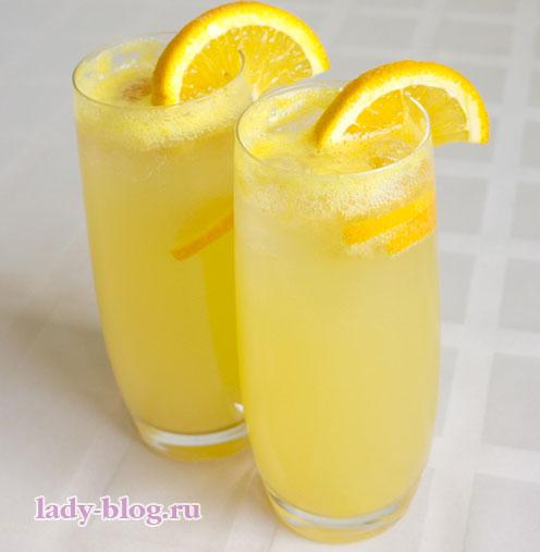 Домашний лимонад апельсиновый