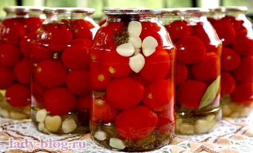 Маринованные помидоры рецепт без стерилизации