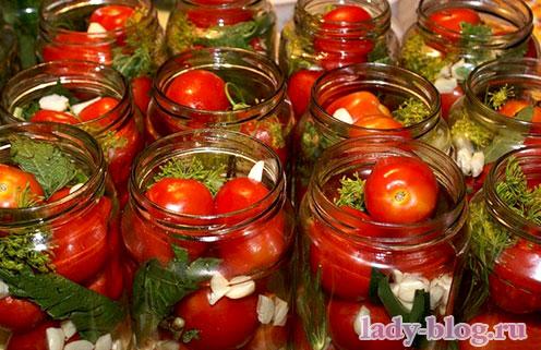 Рецепт вкусных маринованных помидоров без стерилизации