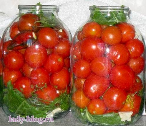 Рецепт вкусных маринованных помидоров на зиму