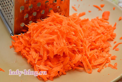 Морковь для капустного салата