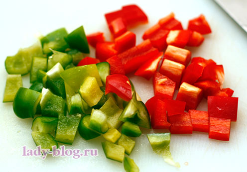 Болгарский перец и греческий салат