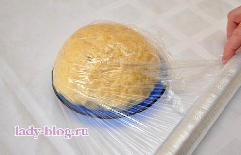 Тесто для апельсинового печенья