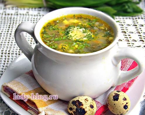 Суп из щавеля - рецепт зеленых щей
