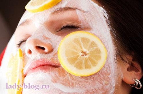 Рецепт отбеливающей маски из сметаны