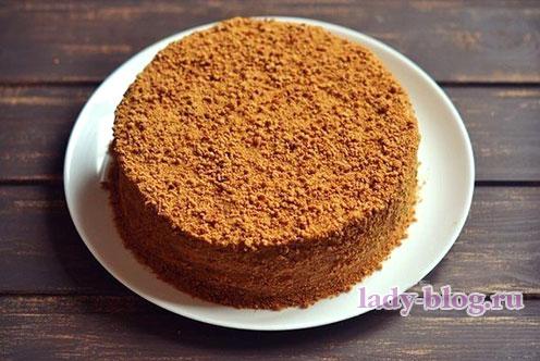 """Рецепт медового торта """"Рыжик"""""""