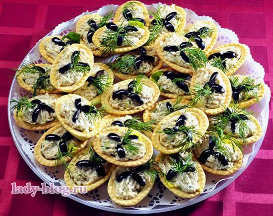 Рецепты салаты в тарталетках рецепты простые и вкусные рецепты
