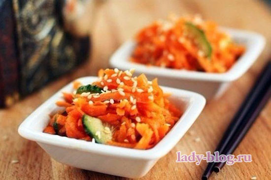 Салат из моркови без маойнеза