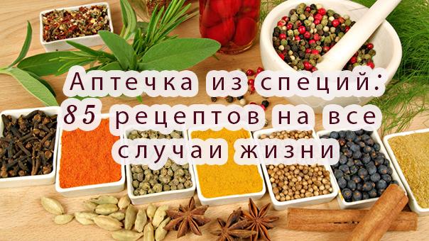 Аптечка из специй: 85 рецептов на все случаи жизни