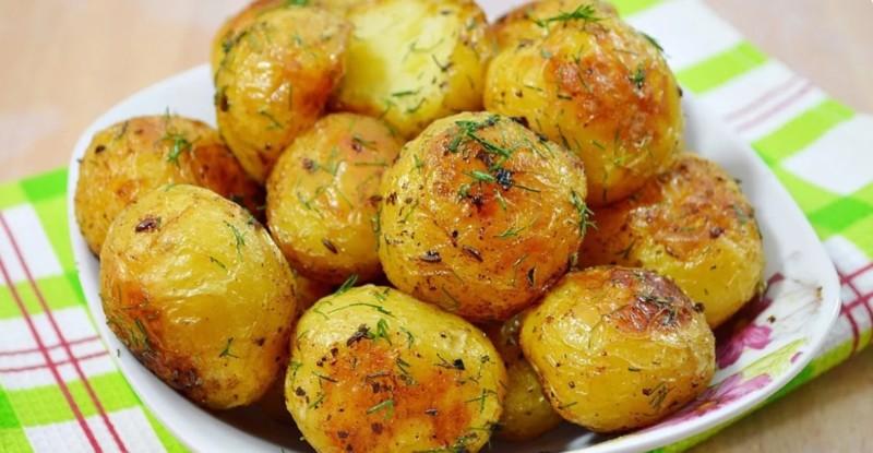 Картофель по-деревенски -рецепты с фото