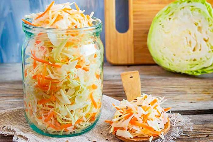 Рецепты квашеной капусты на зиму с фото