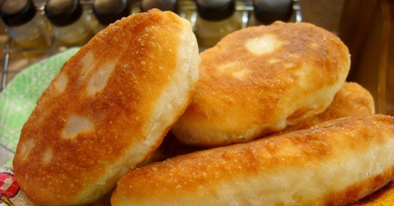 Жареные пирожки с картошкой -7 вкусных рецептов с фото ивидео
