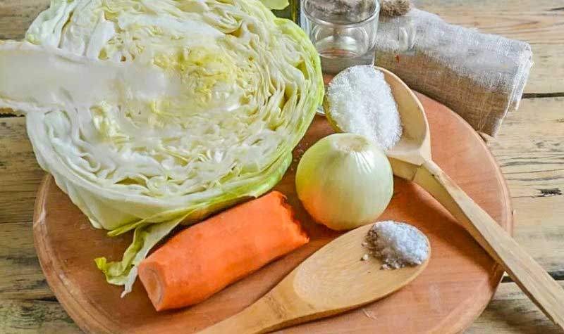Квашеная капуста на зиму- рецепт с фото пошагово